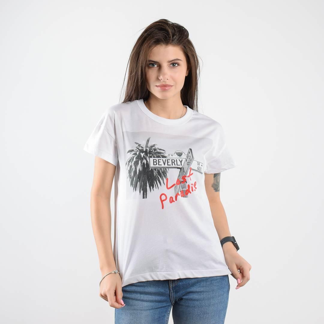 Женская футболка LOST PARADISE