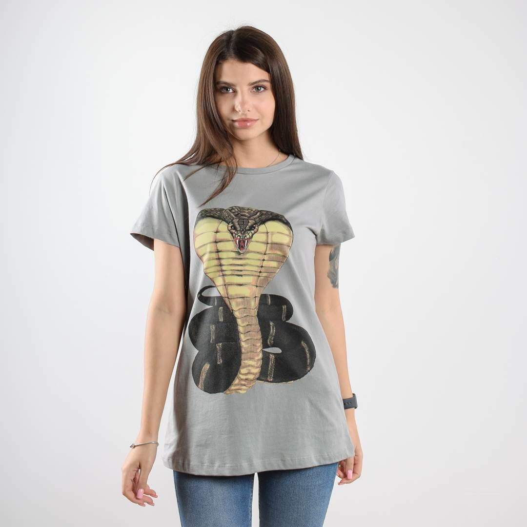 Женская футболка KING COBRA
