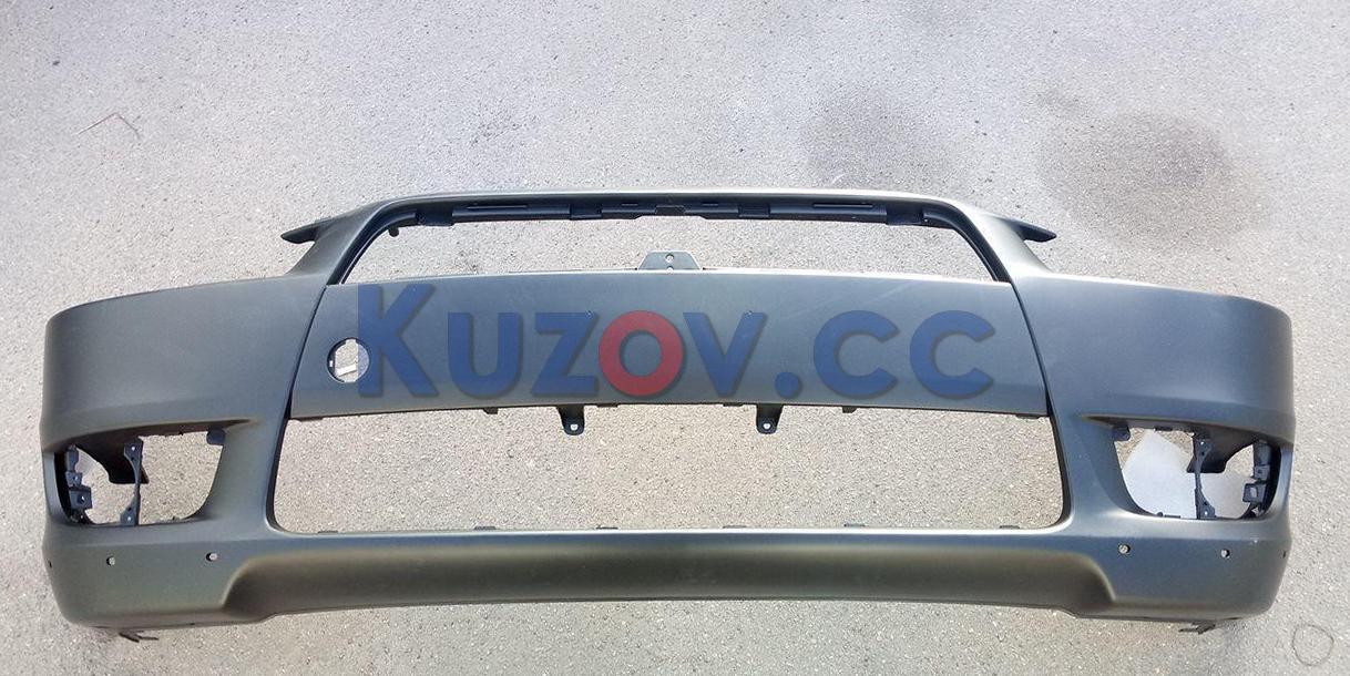 Передний бампер Mitsubishi Lancer X '07-12 (с отв. под спойлер) (FPS) 6400B916WA