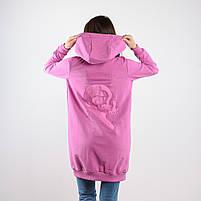 Удлинённая кофта АВЕНЮ с вышивкой, фото 2
