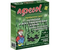 Удобрение 1.2 кг для закладки и регенерации газонов  Agrecol