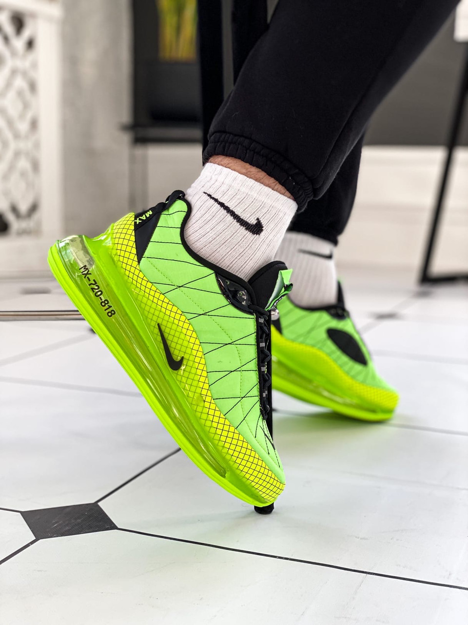 "Мужские кроссовки Nike Air Max 720 ""Green Neon"""
