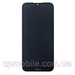 Дисплей (екран) Nokia 4.2 Dual Sim, з сенсорним склом, чорний