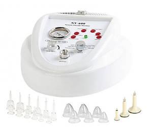 Аппарат вакуумного массажа с набором шариковых насадок и банок для массажа: NV-600