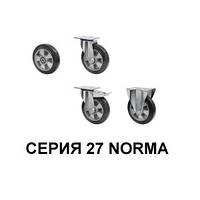 Колеса из эластичной резины с алюминиевым центром серия 27 Norma