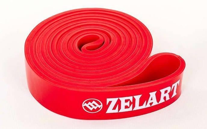 Резина для подтягиваний (лента сопротивлен) красный POWER BANDS, фото 2