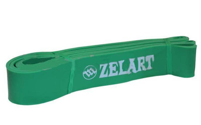 Резина для подтягиваний (лента сопротивления) зелен Power Bands, фото 2