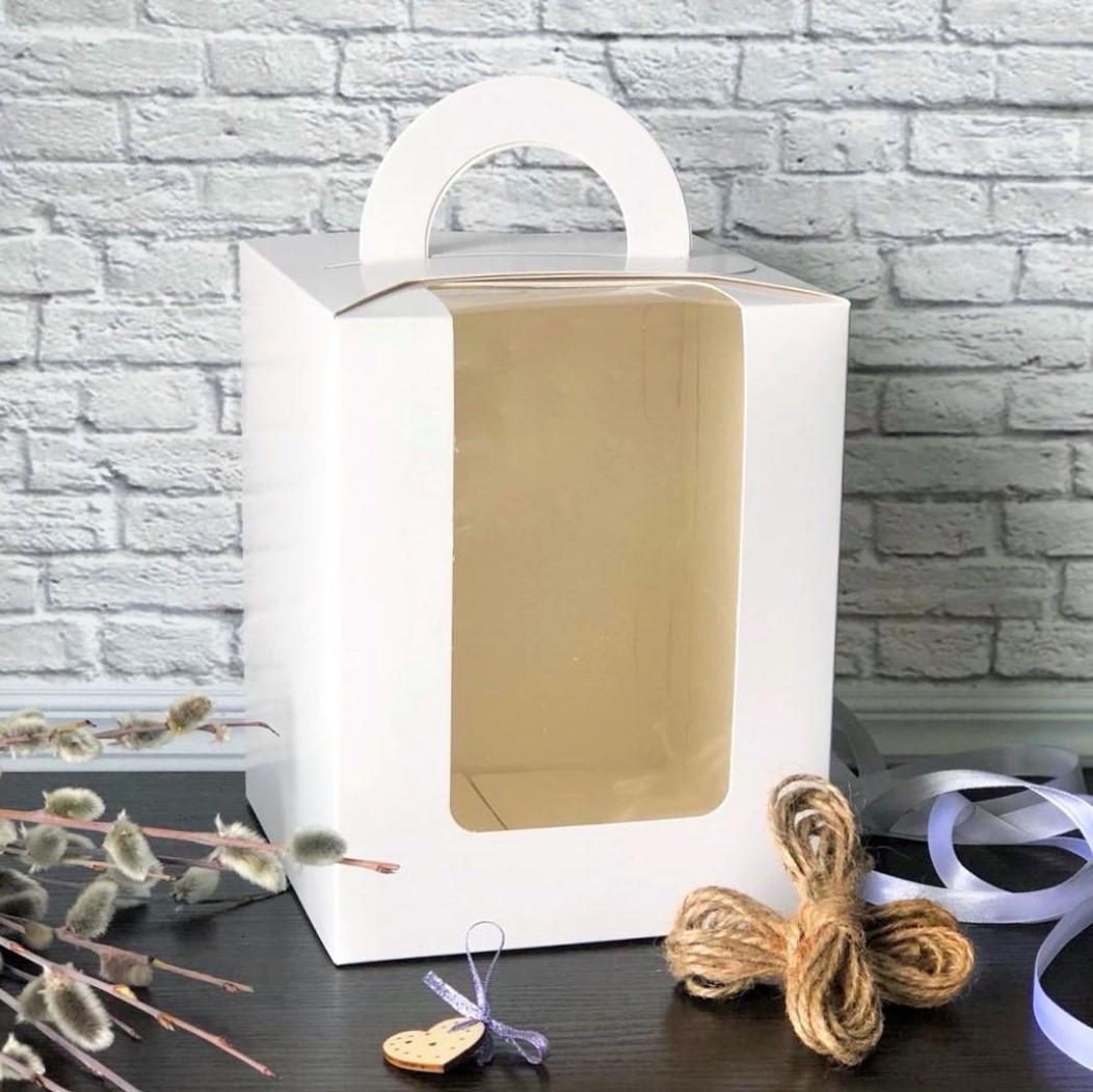 Коробка для кулича 160*160*200 с окошком Galette - 06735