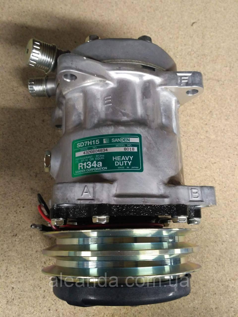 F2520012 F2520013 Hidromek Компрессор кондиционера Sanden SD7H15 8018