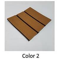 EVA искусcтвенный тик Color 2 (цвет светло-коричневый, черная полоса)