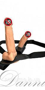 Двойной страпон для женщин