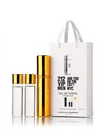 Міні-парфуми Carolina Herrera 212 VIP Men, чоловічий 3х15 мл