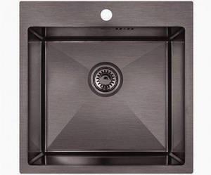 Кухонная мойка Imperial D5050BL PVD black Handmade 2.7/1.0 mm IMPD5050BLPVDH10