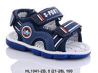 Летняя обувь 2020 Детские босоножки для мальчиков от фирмы Lilin(21-26)