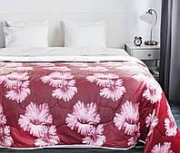 Покрывало на кровать, диван 200х220 хлопковое Бордо