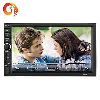 Автомагнитола 2 DIN с сенсорным экраном Bluetooth \ USB \ micro SD \ AUX \ FM