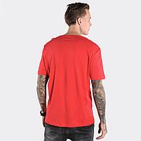 Мужская футболка CROCO красная, фото 2