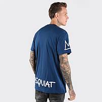 Футболка мужская JMB синяя, фото 2