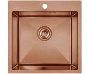 Кухонная мойка Imperial D5050BR PVD bronze Handmade 2.7/1.0 mm IMPD5050BRPVDH10