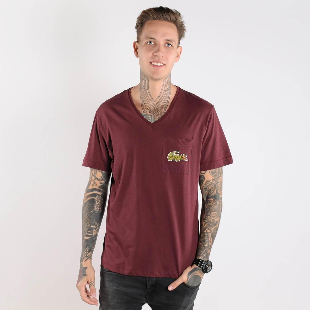 Мужская футболка CROCO бордовая