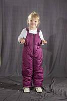 Детский зимний полукомбинезон Фиолетовый