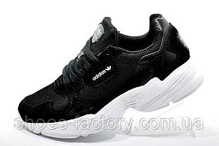 Женские кроссовки в стиле Adidas Falcon W Black\White