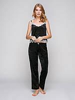 Пижама велюровая с брюками Serenade 5034