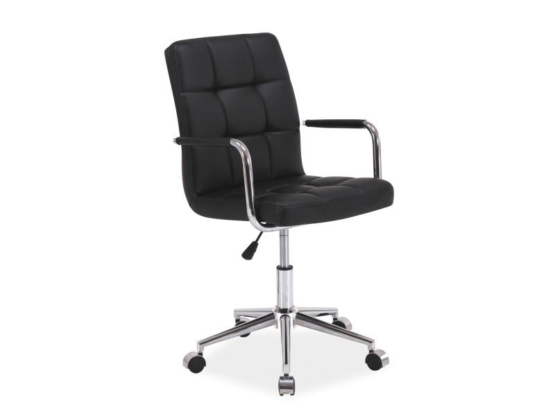 Крісло комп'ютерне Q-022 чорний (Signal)