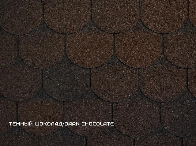 RUFLEX ORNAMI - Темный шоколад, Dark Chocolate