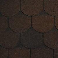 Битумная черепица RUFLEX ORNAMI - Темный шоколад, Dark Chocolate