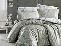 Комплект постельного бельяRanforce Zena Yesil First Choice Евро размер
