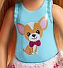 Barbie Барбі клуб Челсі і щеня стенд частувань FHP67 Club Chelsea Doll and Playset Puppy Shop, фото 4