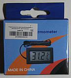 Термометр автомобильный с выносным датчиком, фото 2