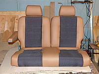 Авто сидение диван двойка «ШТУРМАН» (двухместный) для Mercedes Sprinter,Volkswagen Crafter