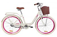 "Велосипед 26"" Dorozhnik LUX планет. 2020 (бежевый)"