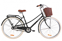 """Велосипед 28"""" Dorozhnik COMFORT FEMALE планет. 2020 (черный (м))"""