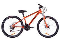 """Велосипед 26"""" Formula THOR 1.0 AM 14G DD Al 2019 (оранжево-черный с бирюзовым)"""