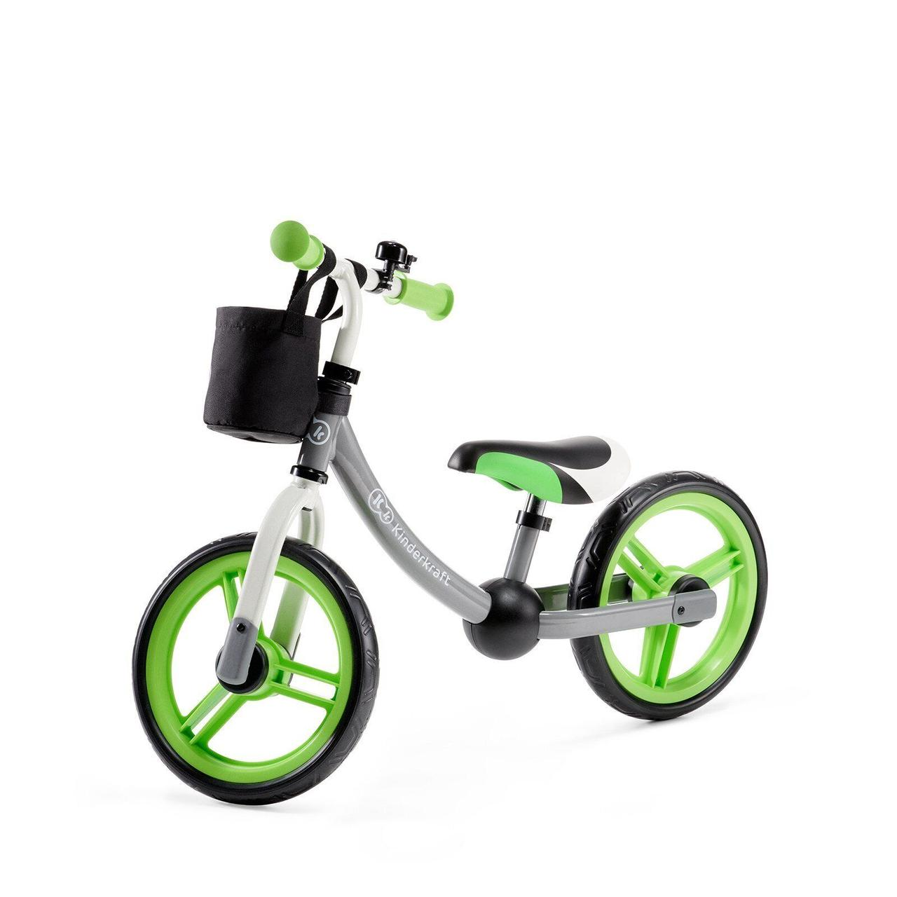 Беговел Kinderkraft 2Way Next Green 5902533911103