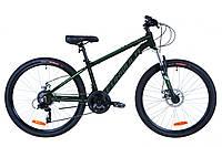 """Велосипед 26"""" Formula THOR 2.0 AM 14G DD Al 2019 (черно-серый с бирюзовым (м))"""