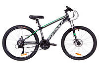 """Велосипед 26"""" Formula THOR 2.0 AM 14G DD Al 2019 (черно-зеленый (м))"""