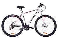 """Велосипед 29"""" Formula THOR 1.0 AM 14G DD Al 2019 (бело-черно-красный)"""