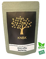 Зеленый кофе с ягодами Годжи 100 г. молотый (для похудения)