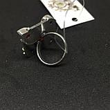 Гранат кольцо с камнем гранат в серебре. Кольцо с гранатом размер 18 Индия, фото 5