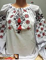 Вышиванка рубашка блуза  S, M, L, XL, 2XL, 3XL