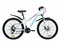 """Велосипед 26"""" Formula ELECTRA DD13  2020 (бело-голубой с сиреневым)"""