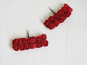 Троянди латексові бордові 2 см