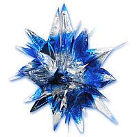 Звезда фольга объёмная KPB-0561