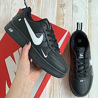 Кроссовки Nike Air AF-1 женские весенние кеды найк кросівки жіночі