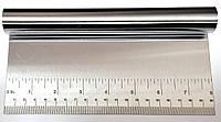 Шпатель кондитерский металлический с разметкой 20 см