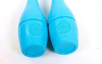 Булавы для художественной гимнастики 40см (пластик,2шт), фото 2